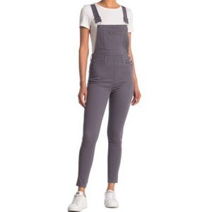 WeWoreWhat high rise skinny overalls